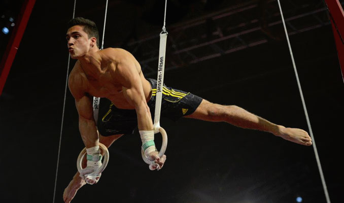 Gymnastic Rings Hardest Exercises - Planche